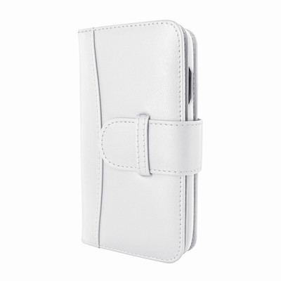 Piel Frama iPhone X / Xs WalletMagnum Leather Case - White