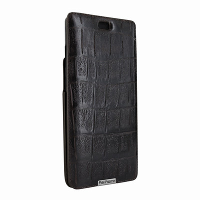 Piel Frama Samsung Galaxy Note 8 iMagnum Leather Case - Brown Wild Cowskin-Crocodile