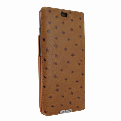 Piel Frama Samsung Galaxy Note 8 iMagnum Leather Case - Tan Cowskin-Ostrich