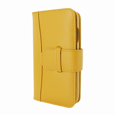 Piel Frama iPhone XR WalletMagnum Leather Case - Yellow