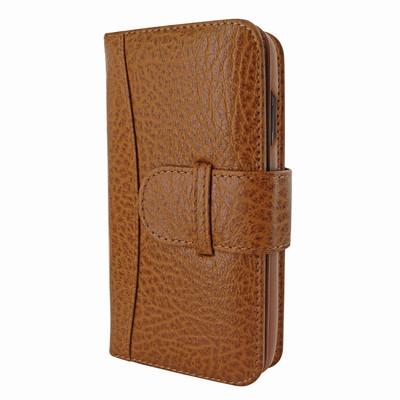 Piel Frama iPhone XR WalletMagnum Leather Case - Tan iForte