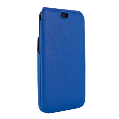Piel Frama iPhone XR iMagnum Leather Case - Blue