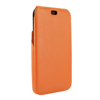 Piel Frama iPhone XR iMagnum Leather Case - Orange