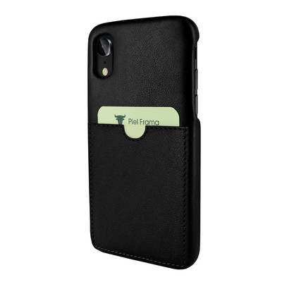 Piel Frama iPhone XR FramaSlimGrip Leather Case - Black