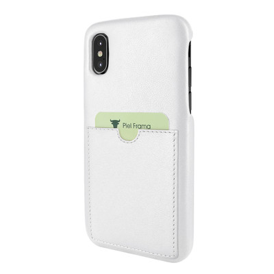 Piel Frama iPhone Xs Max FramaSlimGrip Leather Case - White