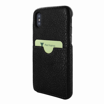 Piel Frama iPhone Xs Max FramaSlimGrip Leather Case - Black iForte