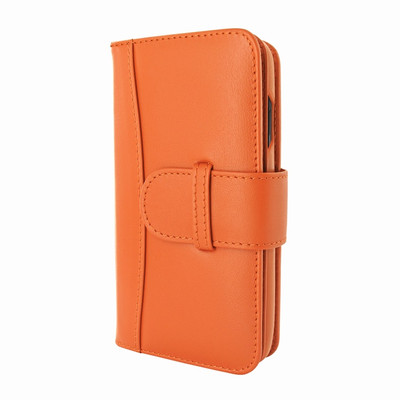 Piel Frama iPhone Xs Max WalletMagnum Leather Case - Orange