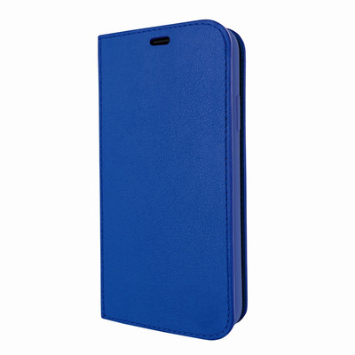 Piel Frama iPhone Xs Max FramaSlimCards Leather Case - Blue