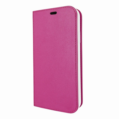 Piel Frama iPhone Xs Max FramaSlimCards Leather Case - Fuchsia
