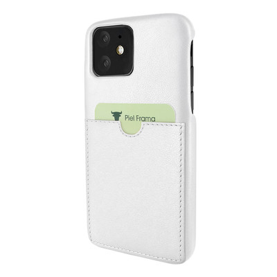 Piel Frama iPhone 11  FramaSlimGrip Leather Case - White