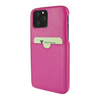 Piel Frama iPhone 11 Pro FramaSlimGrip Leather Case - Fuchsia