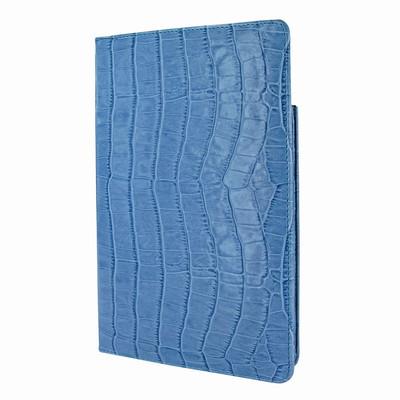 Piel Frama iPad Mini (2019) Cinema Leather Case - Blue Cowskin-Crocodile