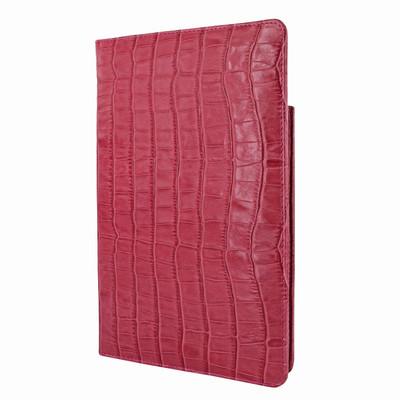 Piel Frama iPad Mini (2019) Cinema Leather Case - Fuchsia Cowskin-Crocodile