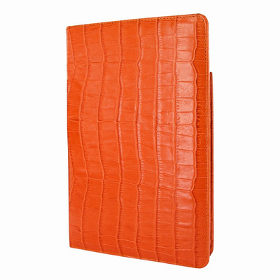 Piel Frama iPad Mini (2019) Cinema Leather Case - Orange Cowskin-Crocodile