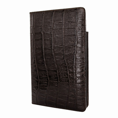 Piel Frama iPad Mini (2019) Cinema Leather Case - Brown Wild Cowskin-Crocodile