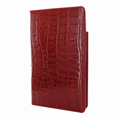 Piel Frama iPad Mini (2019) Cinema Leather Case - Red Wild Cowskin-Crocodile