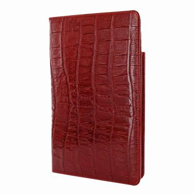 Piel Frama iPad Mini (2019) Cinema Leather Case - Red Wild Cowskin-Crocodile