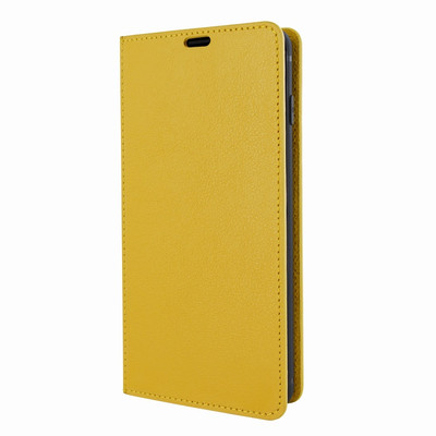 Piel Frama Samsung Galaxy S10e FramaSlimCards Leather Case - Yellow