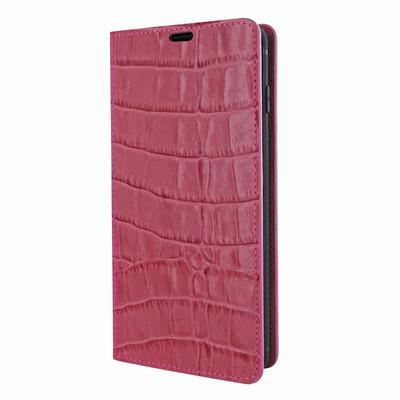 Piel Frama Samsung Galaxy S10e FramaSlimCards Leather Case - Fuchsia Cowskin-Crocodile