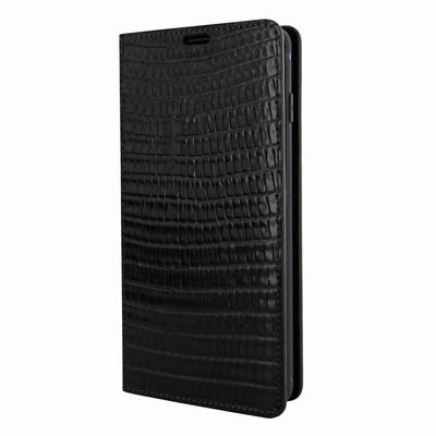 Piel Frama Samsung Galaxy S10e FramaSlimCards Leather Case - Black Cowskin-Lizard