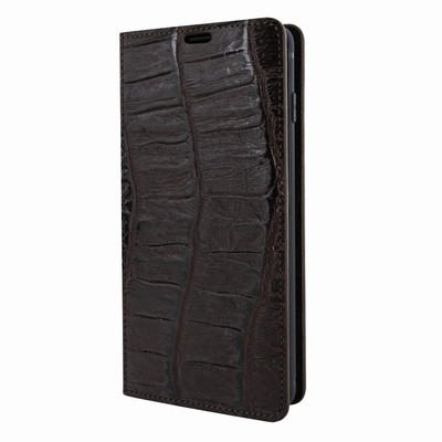 Piel Frama Samsung Galaxy S10 PLUS FramaSlimCards Leather Case - Brown Wild Cowskin-Crocodile