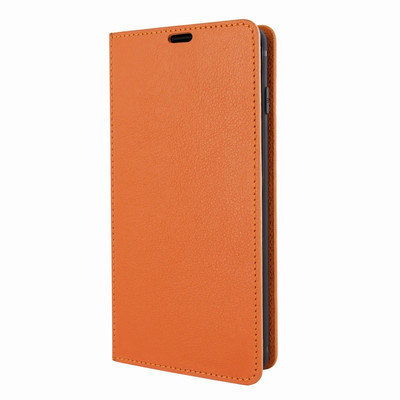 Piel Frama Samsung Galaxy S10 FramaSlimCards Leather Case - Orange