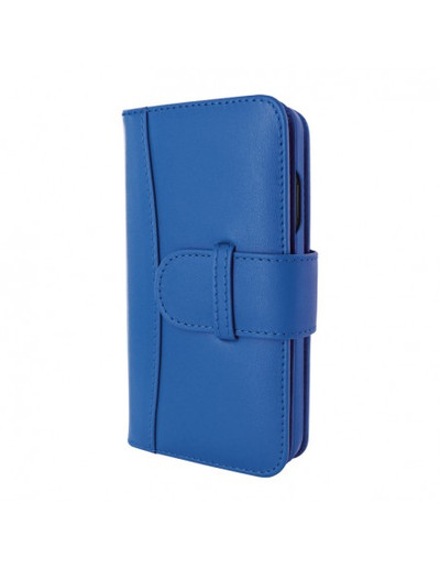 Piel Frama iPhone 13 Pro Max WalletMagnum Leather Case - Blue
