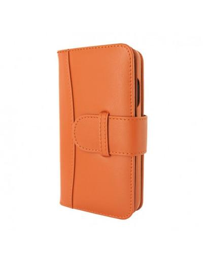 Piel Frama iPhone 13 Pro Max WalletMagnum Leather Case - Orange