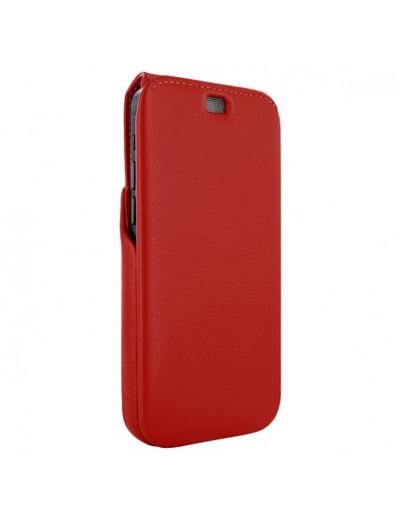 Piel Frama iPhone 13 Pro Max iMagnum Leather Case - Red