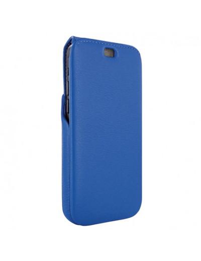 Piel Frama iPhone 13 Pro Max iMagnum Leather Case - Blue