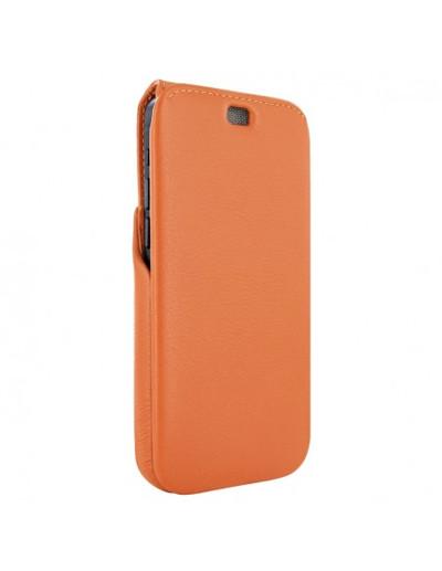 Piel Frama iPhone 13 Pro iMagnum Leather Case - Orange