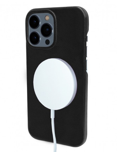 Piel Frama iPhone 13 Pro FramaSlimGrip Leather Case - Black