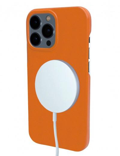 Piel Frama iPhone 13 Pro FramaSlimGrip Leather Case - Orange