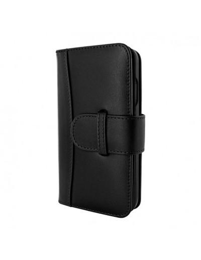 Piel Frama iPhone 13 WalletMagnum Leather Case - Black
