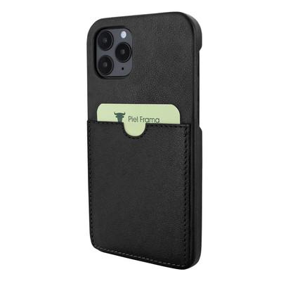 Piel Frama iPhone 12   12 Pro FramaSlimGrip Leather Case - Black