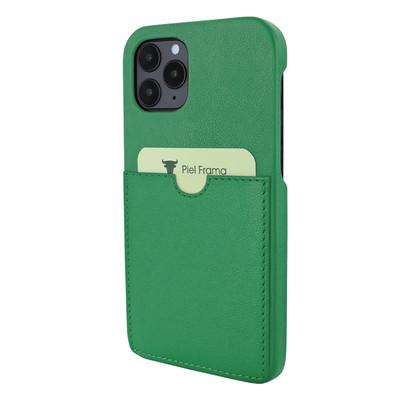 Piel Frama iPhone 12   12 Pro FramaSlimGrip Leather Case - Green
