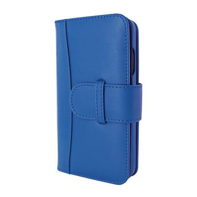 Piel Frama iPhone 12 | 12 Pro WalletMagnum Leather Case - Blue