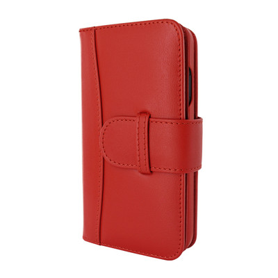 Piel Frama iPhone 12 | 12 Pro WalletMagnum Leather Case - Red