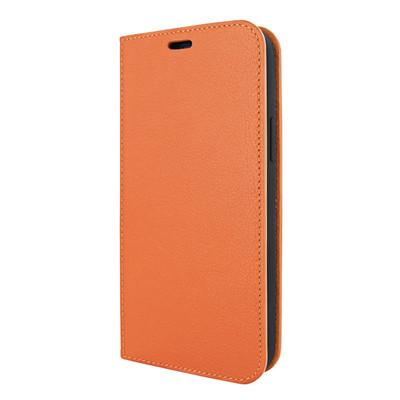 Piel Frama iPhone 12 | 12 Pro FramaSlimCards Leather Case - Orange
