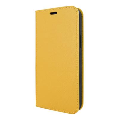 Piel Frama iPhone 12 | 12 Pro FramaSlimCards Leather Case - Yellow