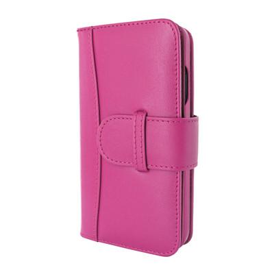 Piel Frama iPhone 12 | 12 Pro WalletMagnum Leather Case - Pink
