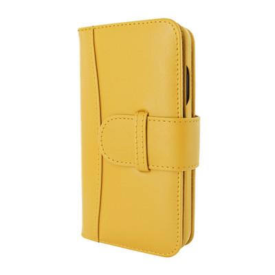 Piel Frama iPhone 12 | 12 Pro WalletMagnum Leather Case - Yellow