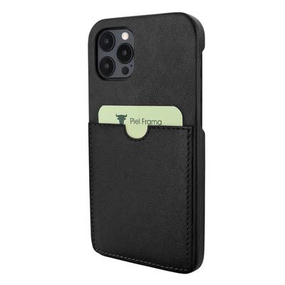 Piel Frama iPhone 12 Pro Max FramaSlimGrip Leather Case - Black
