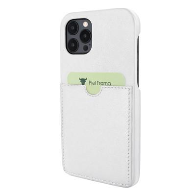 Piel Frama iPhone 12 Pro Max FramaSlimGrip Leather Case - White