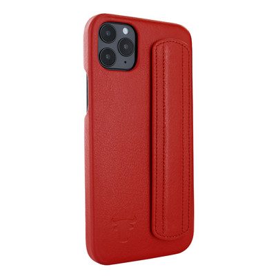Piel Frama iPhone 12 Pro Max FramaSafe Leather Case - Red