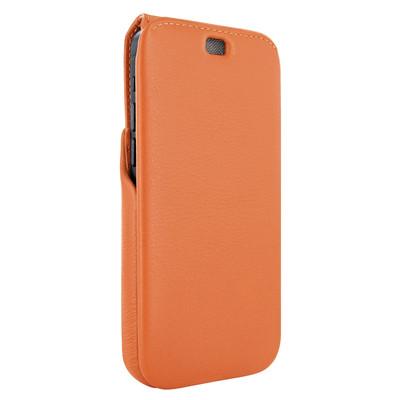 Piel Frama iPhone 12 Pro Max iMagnum Leather Case - Orange