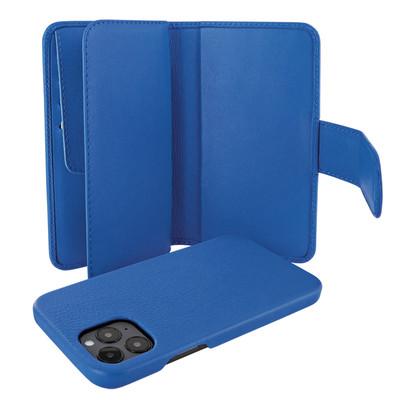 Piel Frama iPhone 12 Pro Max WalletMagnum Leather Case - Blue