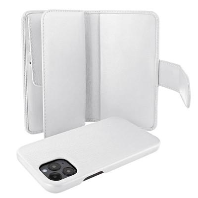 Piel Frama iPhone 12 Pro Max WalletMagnum Leather Case - White