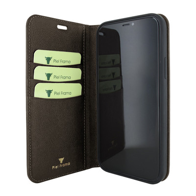 Piel Frama iPhone 12 Pro Max FramaSlimCards Leather Case - Brown