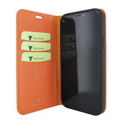 Piel Frama iPhone 12 Pro Max FramaSlimCards Leather Case - Orange